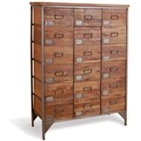 18 Drawer Apothecary Chest in Re-Engineered Design