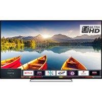 55″  TOSHIBA 55U6863DB Smart 4K Ultra HD HDR LED TV, Grey