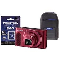 Canon Powershot Sx620 Hs Camera Kit In 16Gb Sdhc Class 10 Card And Case – Red