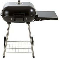 18 Inch Square Grill Charcoal Bbq With Side Table