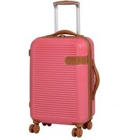 IT Luggage En Vogue Spinner Coral 21 Inch Cabin Case Coral (Pink)