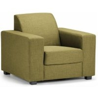 Ada Fabric Armchair Lime