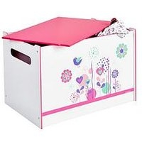 Hello Home Flowers And Birds Toy Box By Hellohome