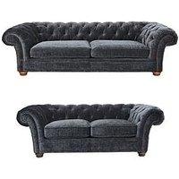 Bardon 3 + 2 Seater Fabric Sofa Set (Buy And Save!)