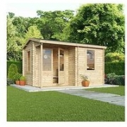 Mercia 4 X 3M 28Mm Tongue And Groove Home Office Log Cabin