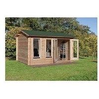 Forest 4 X 3M Chiltern Log Cabin  – Chiltern Log Cabin 4.0M X 3.0M