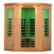 Canadian Spa Aspen Far Infrared Corner 4 Person Sauna