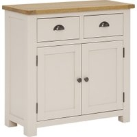 Wainwright 2 Door 2 Drawer Sideboard, Washed Rustic Oak and Linen